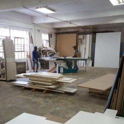 Carpentry Workshop Mulholland interior design